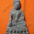 0590-OLD THAI BUDDHIST AMULET FIGURE SUKHOTHAI ART 19TH
