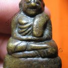 0561-OLD THAI BUDDHIST AMULET FIGURE MONK LP NGERN 1985