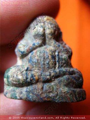 0509-THAI BUDDHIST AMULET CLOSE EYE PHA-PIT-TAH LP DUM
