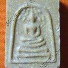 0477-VINTAGE OLD THAI BUDDHA AMULET SOMDEJ  LP THOE