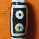 0233-NATURAL TIBETAN AGATE DZI BEAD AMULET MAGIC THAI