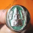 0210-VINTAGE THAI MONK MAGIC BUDDHA AMULET RING SO-TORN