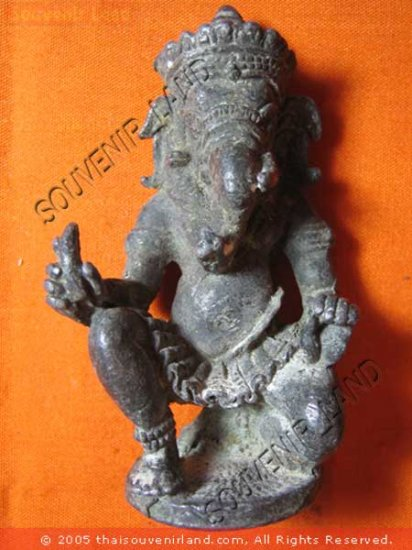 0337-THAI BUDDHA BUDDHIST FIGURE ARTEFACTS ANTIQUE 19TH