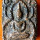 M224-THAI BUDDHA AMULET PENDANT KHUN-PAEN LP NONG  MONK