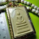 2413-THAI REAL AMULETLUCKY WEALTH RICH SOMDEJ MEMORY 100 YEARS WAT RAKANG 1972