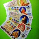 LUCKY THAI THAILAND AMULET MONEY RICH CASH NOTE BILL WEALTH LOVE CHARM GIFT CARD