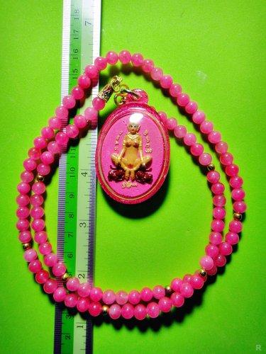 7315-THAI REAL AMULET LUCKY CHARM LOVE ATTRACT GOD SEXY WINDFALL KUBA SUBIN 2007