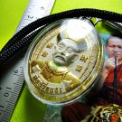 7605-THAI REAL AMULET ERGERFONG GAMBLING LUCKY WIN RICH MONEY KUBA SUBIN 2010