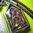 6881-THAI REAL AMULET RICH KHUN-PAEN LOVE ATTRACT MORE MERCY LP KOON 9GOLD TAKUD