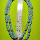 6686-HANDMADE NECKLACE BEAD HANDICRAFT W-HOOK FOR WEARING THAI AMULET VIOLET