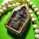 1751-THAI RICHLY LUCKY CHARM AMULET KHUN-PAEN LEKLAI MONKEY NGUNG LOVE LP KEY