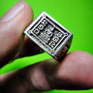 9690-REAL THAI AMULET MONEY ATTRACT RING SILVER RICH WEALTH LP DOO 1982 SIZE 10