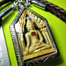 6880-THAI REAL AMULET RICH KHUN-PAEN CHARMING LOVE MORE MERCY LP KOON HAND PAINT