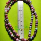6687-HANDMADE NECKLACE BEAD HANDICRAFT W-HOOK WEARING THAI AMULET MULTI COLOR