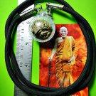 9768-REAL THAI AMULET TALISMAN TAKOR BALL OLD BRONZE 3 MONTH BLESSING LP KALONG