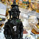 8986-THAI REAL AMULET STATUE NGUNG KHMER GAMBLING ATTRACT LUCK RICH AC KOM BLACK