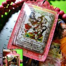 7795-THAILAND REAL AMULET PENDANT PHETPAYATORN PARAMOUR LOVE ATTRACT LP INN PINK