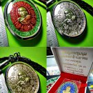 THAI REAL AMULET MEDAL COIN PENDANT MONEY FAST RICHLY LP KOON MILLION SPELL 2013