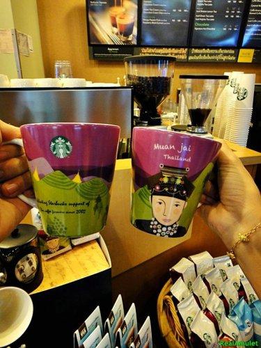 0005-NEW STARBUCKS SUPERB COFFEE MUG 12OZ CUP Original LOCAL THAILAND DESIGN