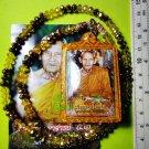9816-LOCKET MONK PHOTO PENDANT AMULET THAI LUCKY RICH MONEY REAL 7 TAKUD LP NONG