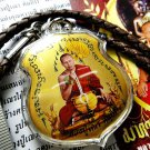 7095-THAI REAL AMULET INCREASE LIFE TO BEST LP NAEN PHOTO PENDANT GOLD COLOR