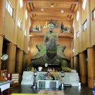 ก REAL THAI AMULET LP LIEW GOLD ENAMEL MEDAL COLOR BUDDHA TURTLE FAST RICH 1992