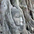 6625-ANCIENT BUDDHA BONZE STATUE NGUNG KHMER AMULET MEDITATING DECORATION  HOME