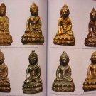 ก SMALL OLD THAI BUDDHA FRIGUR AMULET MEDITATION PHA-KRING WAT SUTAD SHAWL CLOAK