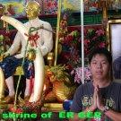 ก THAI REAL AMULET ER-GER-FONG STATUE GAMBLING MONEY RICH DICE RIDER CASINO BIG