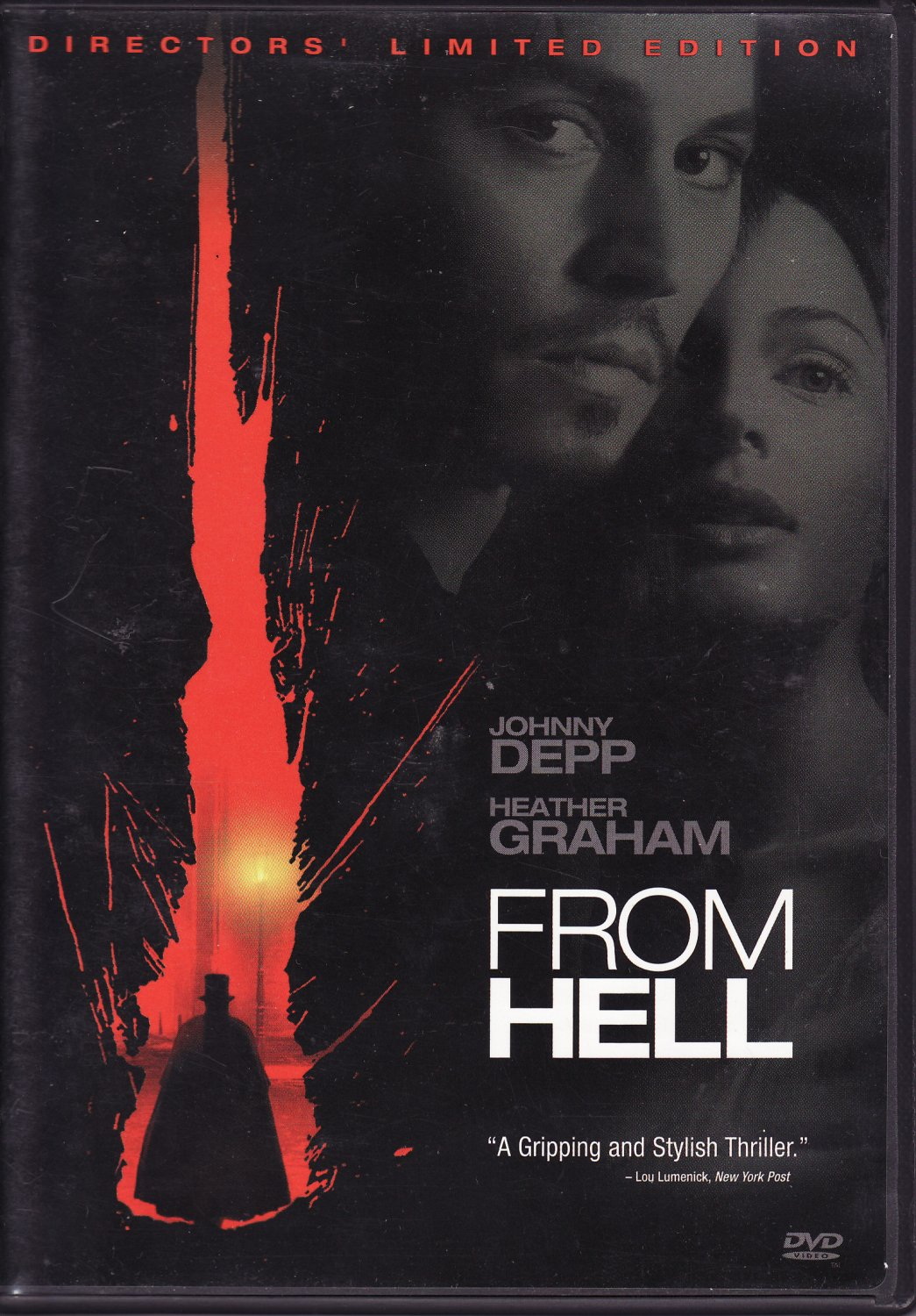 From Hell 2-Disc DVD Johnny Depp Heather Graham Free Shipping