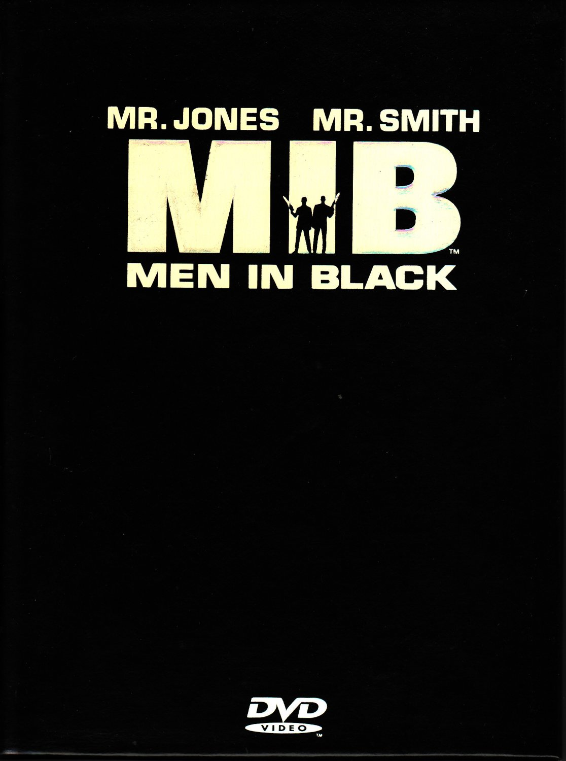 Men In Black 2-Disc DVD Will Smith Tommy Lee Jones Free Shipping