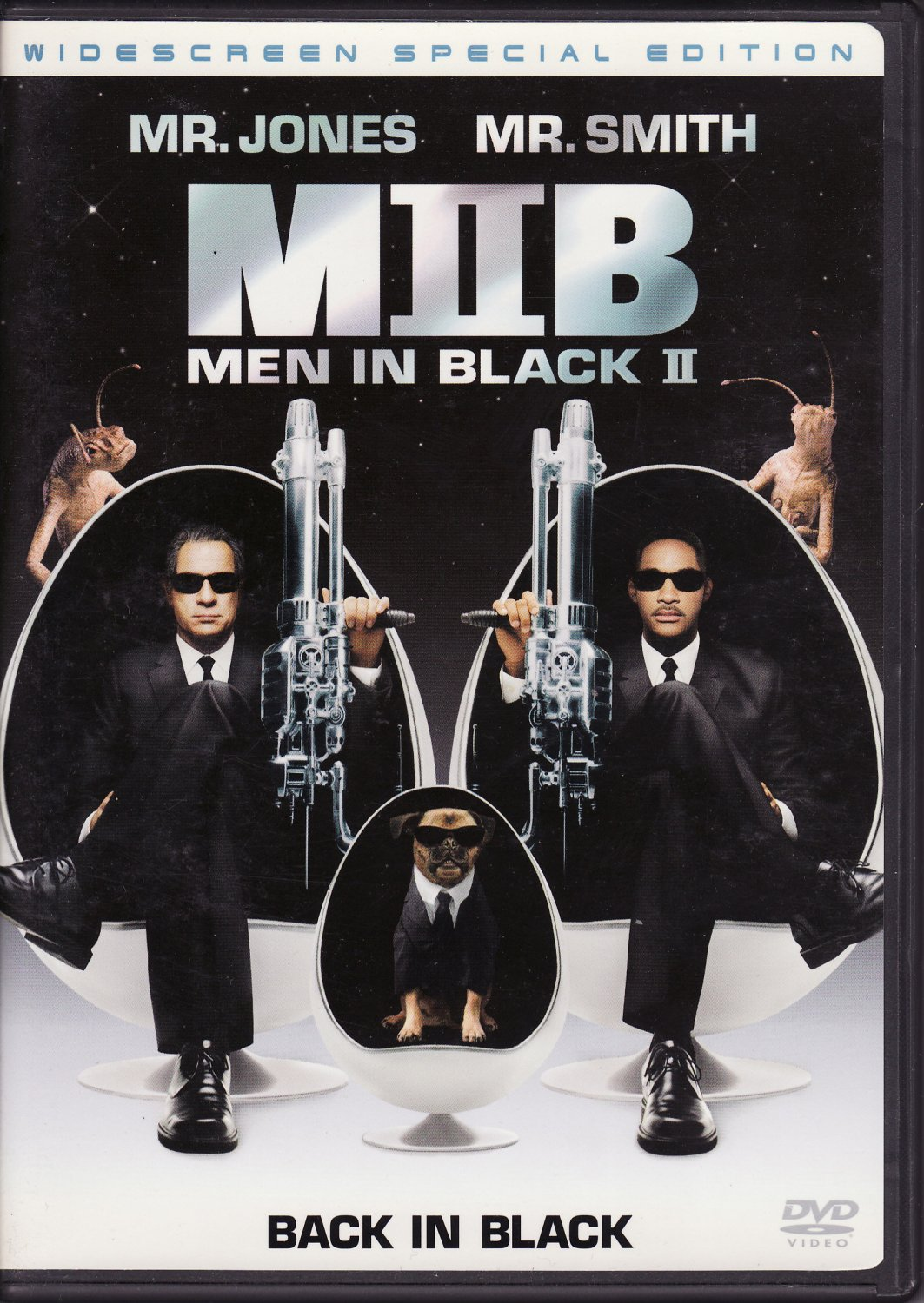 Men In Black II 2-Disc DVD Will Smith Tommy Lee Jones Free Shipping