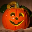 halloween pumpkin candle holder luminaria jack o lantern