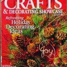 Crafts Decorating Showcase Magazine November 2000 Better Homes and Gardens Christmas Holiday