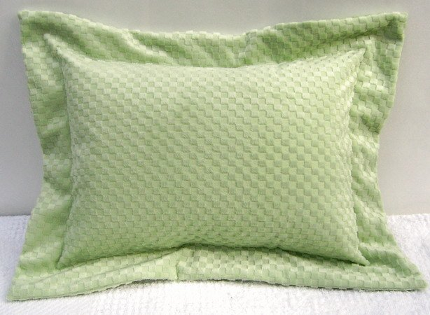 Minky Baby/Toddler/Travel Pillow Sham and Pillow YOU CHOOSE FABRIC