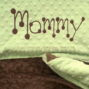 """Large Minky Blanket for Adults 50"""" x 60"""""""