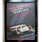 Final Standings CAN-AM Series 1972