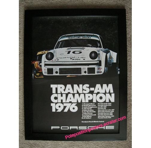 TRANS-AM Champion 1976