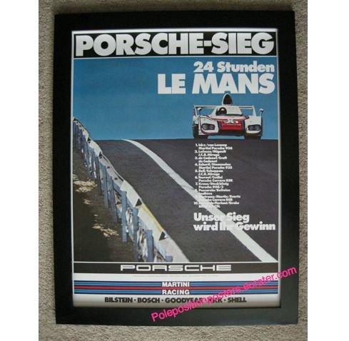Porsche-Sieg 24 Studen Le Mans 1976