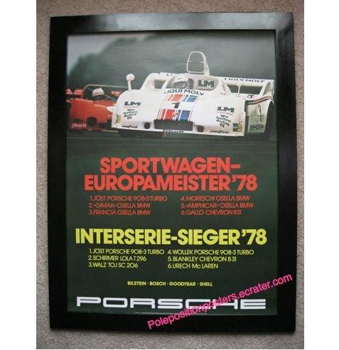 Sportwagen-Europameister �78
