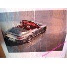 PORSCHE 911 997 TURBO CABRIO Huge Dealer Wall Display (? 2009)