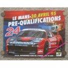Le Mans - 30 Avril 1995 Pre-Qualifications
