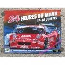 24 Heures Du Mans 17-18 Juin 1995