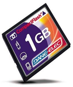 Compact Flash Memory Card 1GB