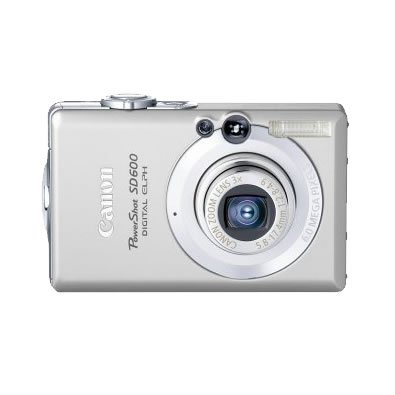 CANON SD600 6.0MP DIGITAL CAMERA + 2GB - 4 BONUS