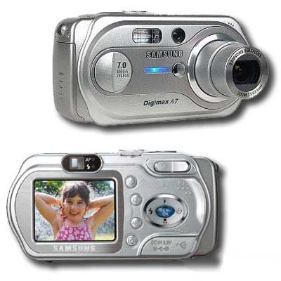Samsung Digimax A7 7 MP Digital Camera 3x Optical