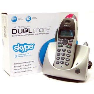NEW RTX DUALphone SKYPE VoIP CORDLESS USB +ANALOG PHONE