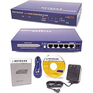 Netgear FR114 Cable/DSL ProSafe Firewall Network Router