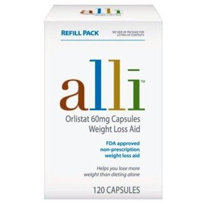 alli orlistat weight loss aid 120 capsules sealed