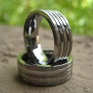 Tungsten Carbide Ring 2 Polished Rows